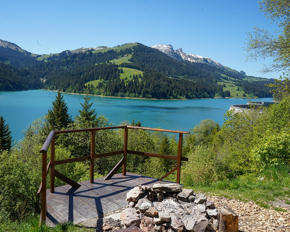 Hongrin Dam - Vaud - Family of 5 Switzerland