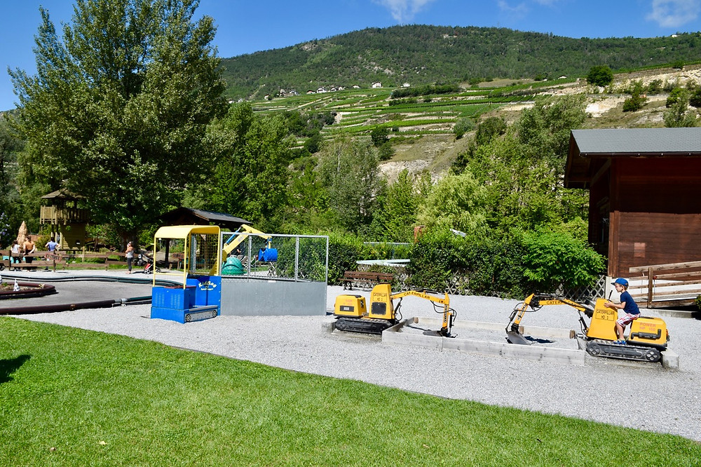 Happyland Parc d'attraction - Switzerland Family Travel Blog