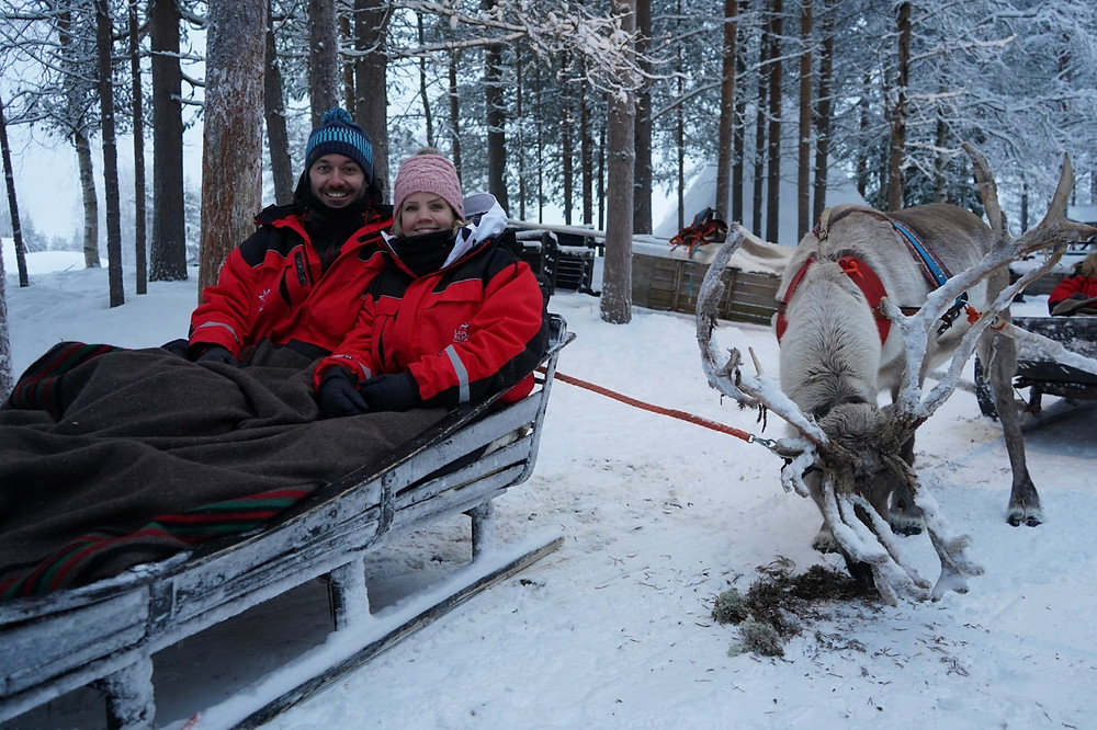 One week in Luosto Lapland Finland with Kontiki from Switzerland