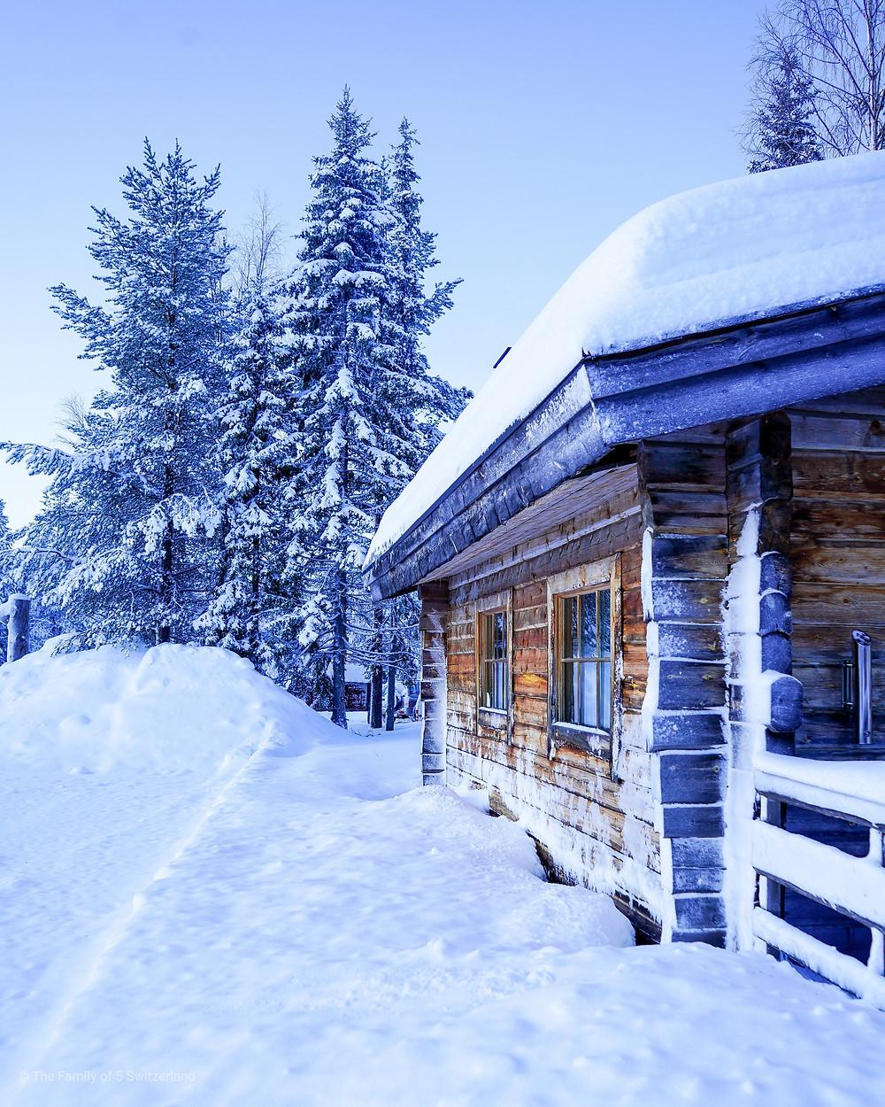 One week in Luosto Lapland Finland with Kontiki from Switzerland