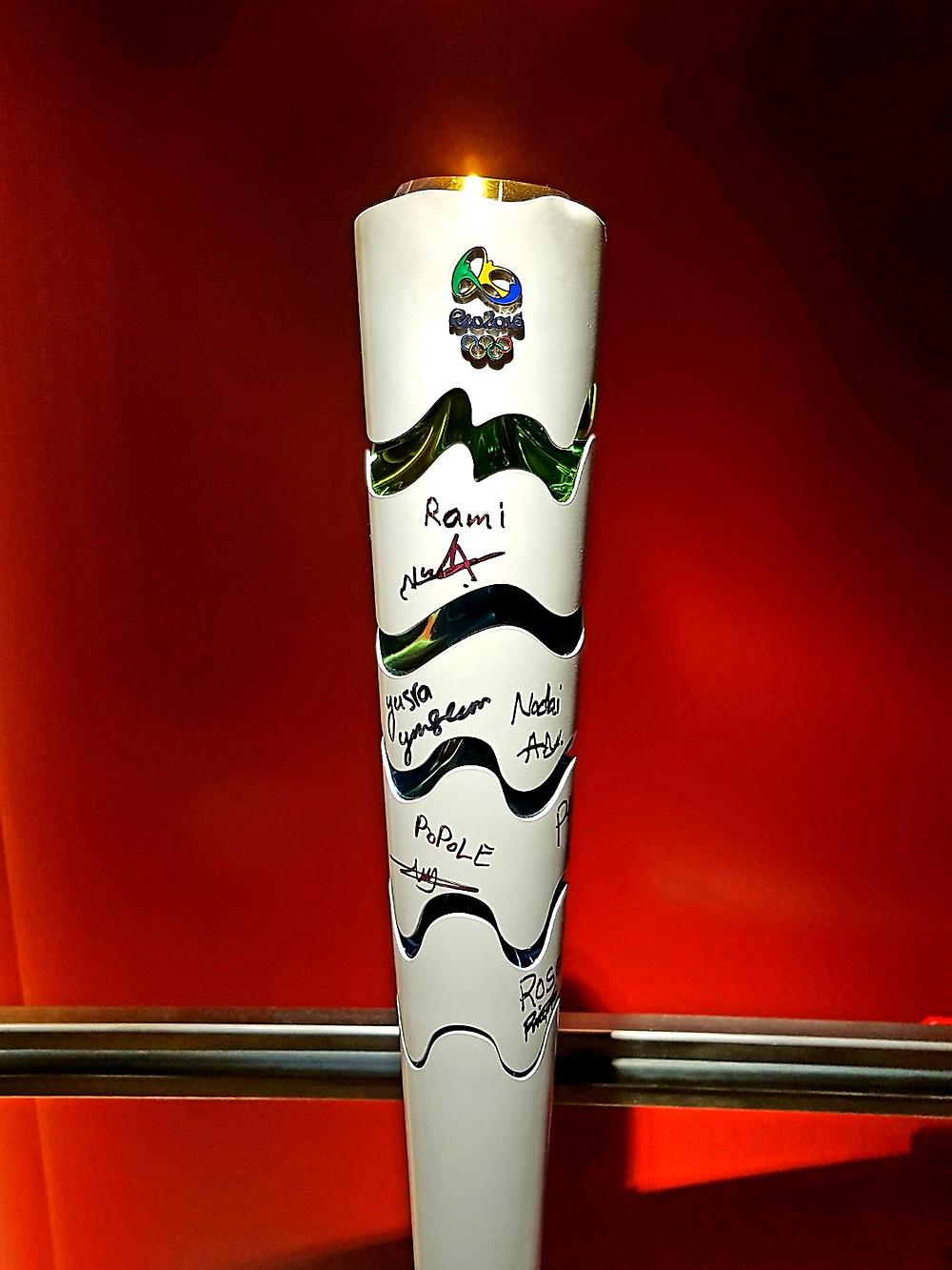 Olympic torches - Rio 2016