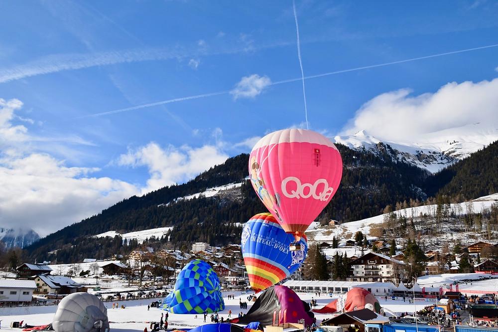 Festival International de Ballons - Château-d'Oex (VD)