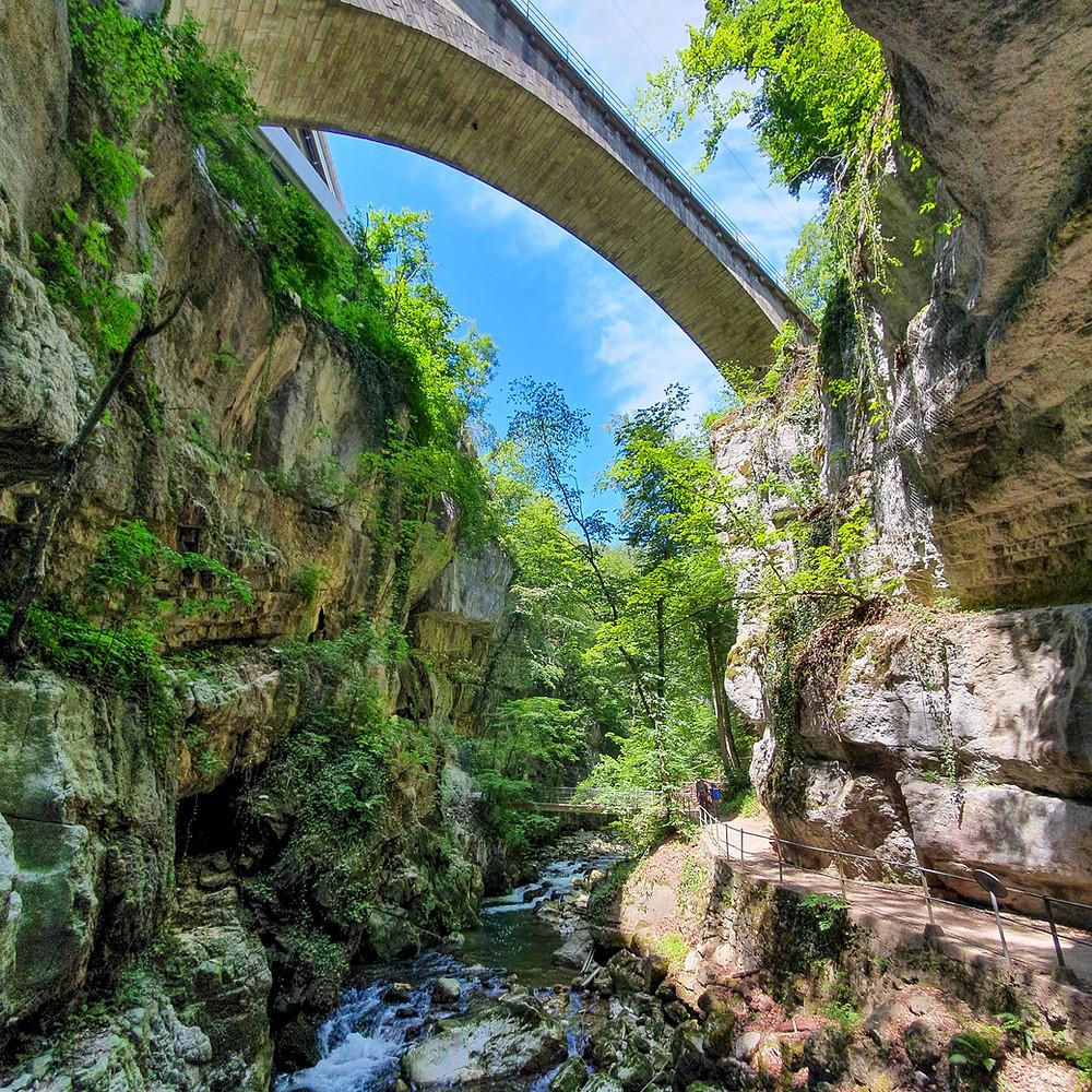 Les Gorges du Taubenloch   Bienne/Biel   Swiss travel blog
