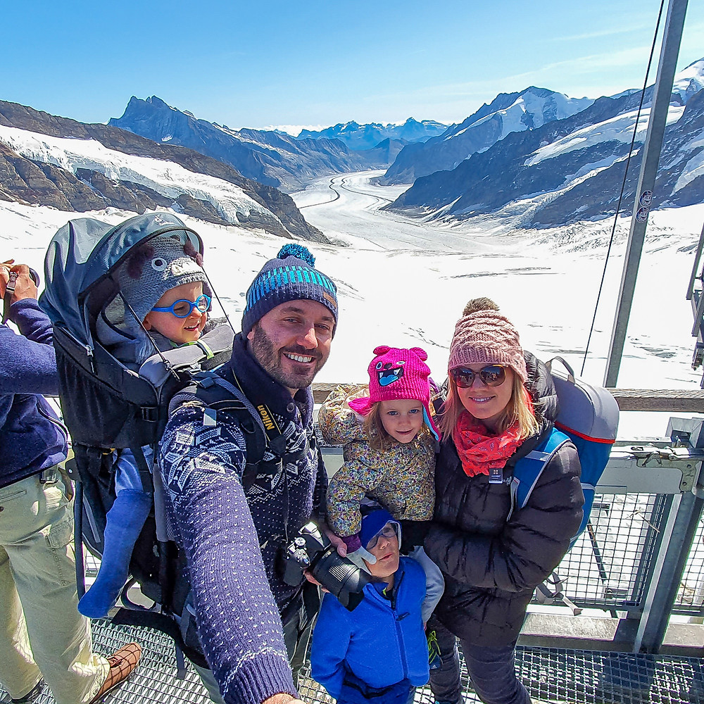 Jungfraujoch - Top of Europe - Switzerland Family Travel blog
