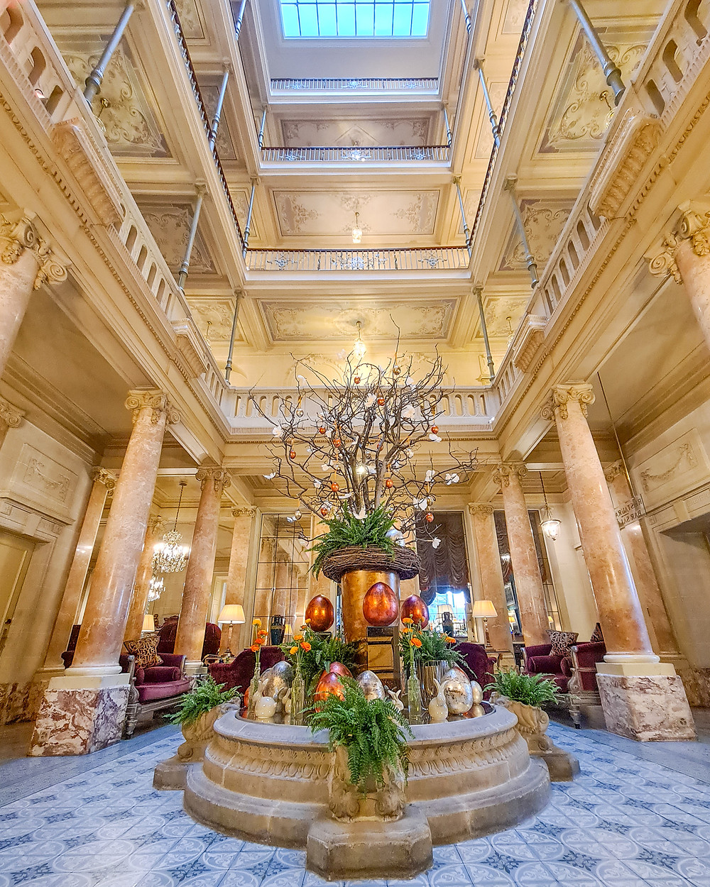 Hôtel Beau-Rivage Geneva Family Blog Review