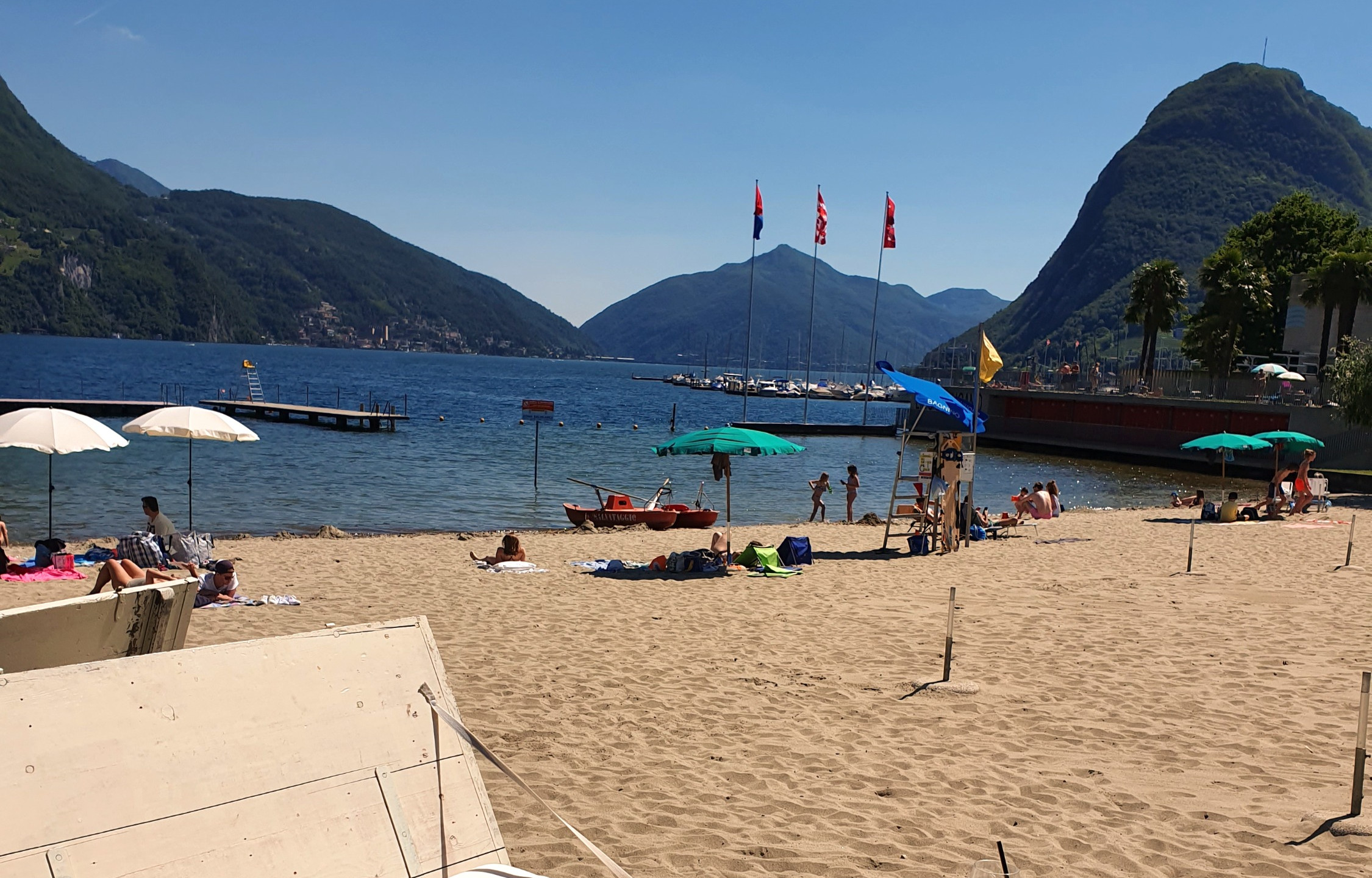 Lido di Lugano - Swiss Family Travel Blog - Weekend in Lugano Ticino - Activities and outings
