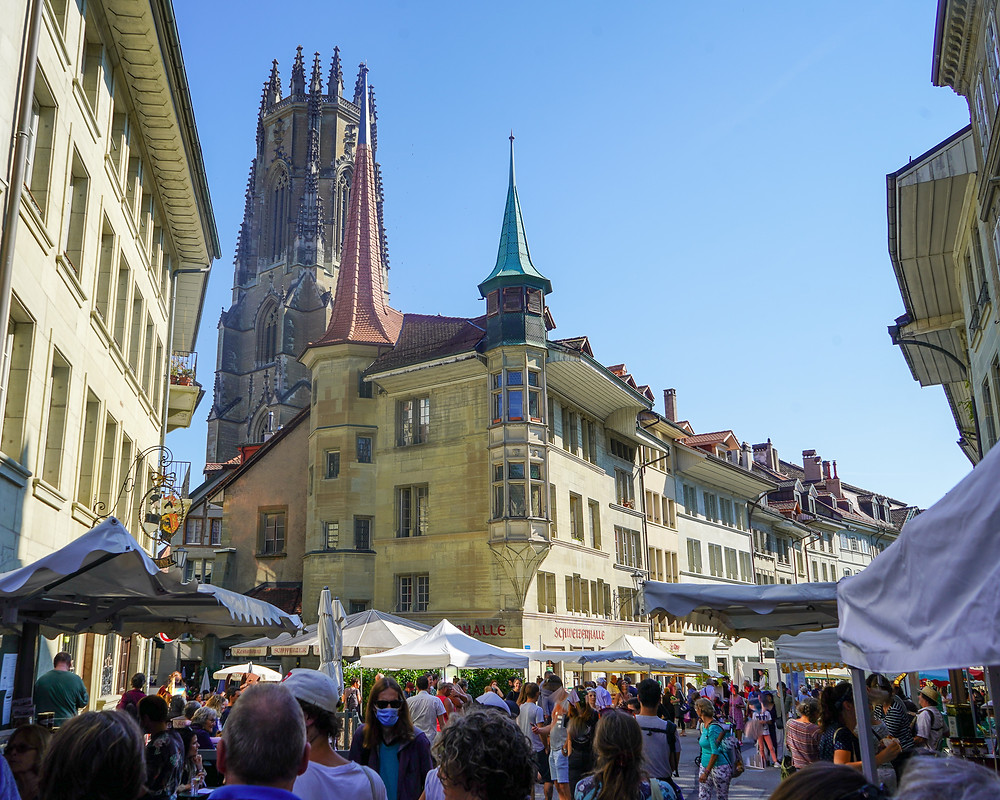 Visit Fribourg Swiss Tour 2020 Family of 5