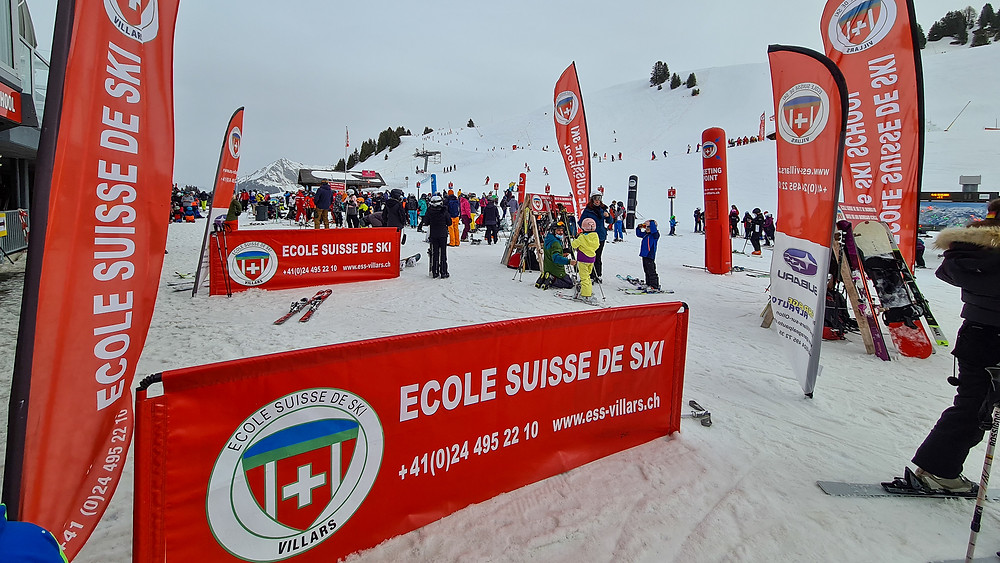 ESS Ski Villars Gryon - Swiss Blog - The family of 5