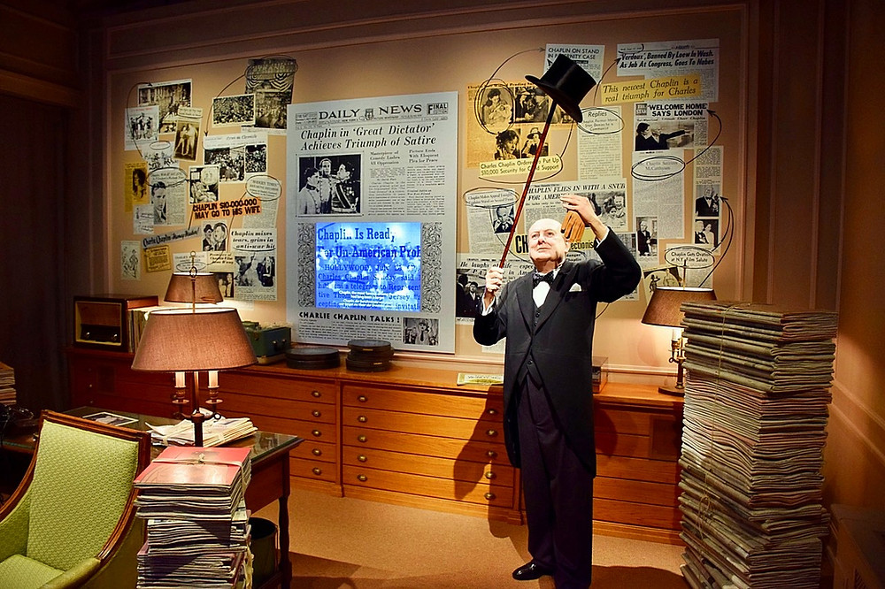 Chaplin's World - Family of 5 - Visit