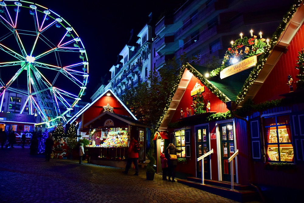 Montreux Lakeside Christmas market - Family of 5 - Montreux Marché de noël 2018