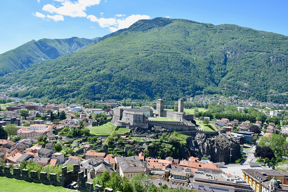 Family Travel Blog Bellinzona and its castles Castelgrande & Montebello