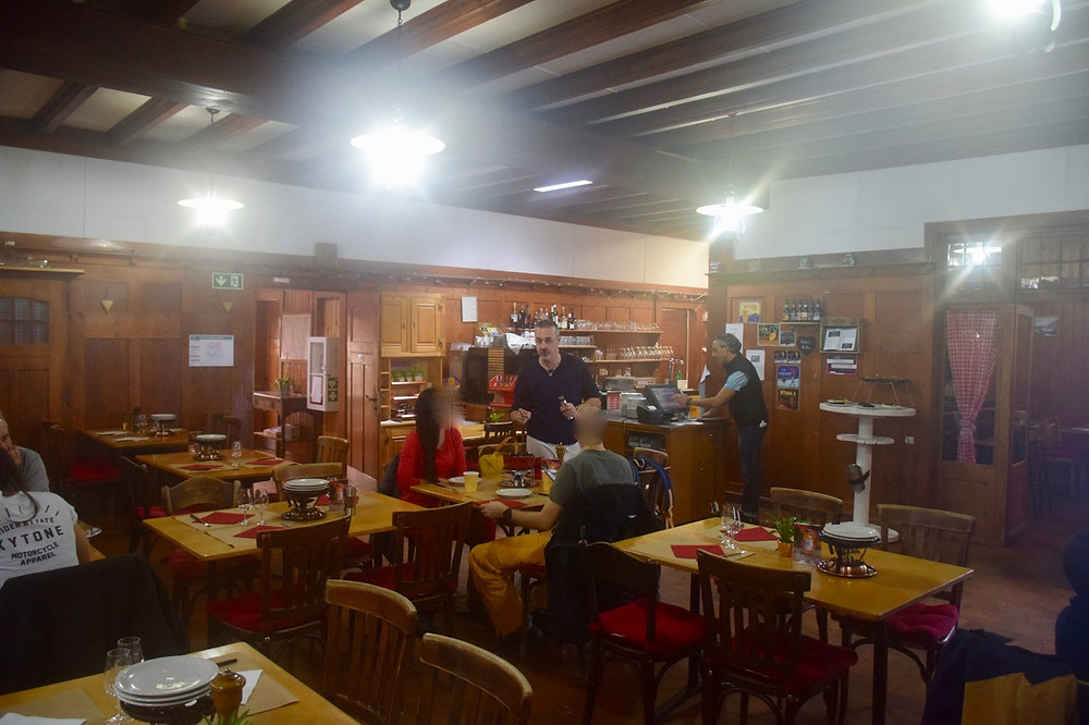 Les Pléiades Restaurant - Family of 5 Switzerland