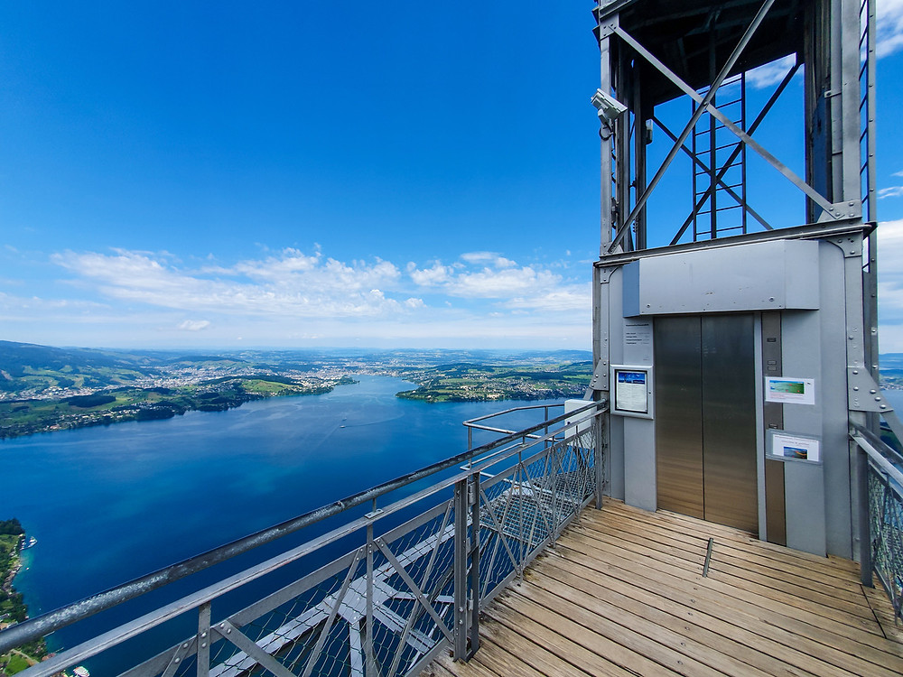 Hammetschwand Lift - Bürgenstock Resort - Switzerland Family Travel Blog
