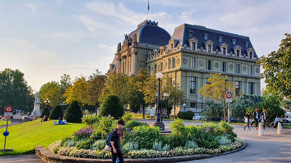 Lausanne for Swiss Tour 2020 with Family of 5