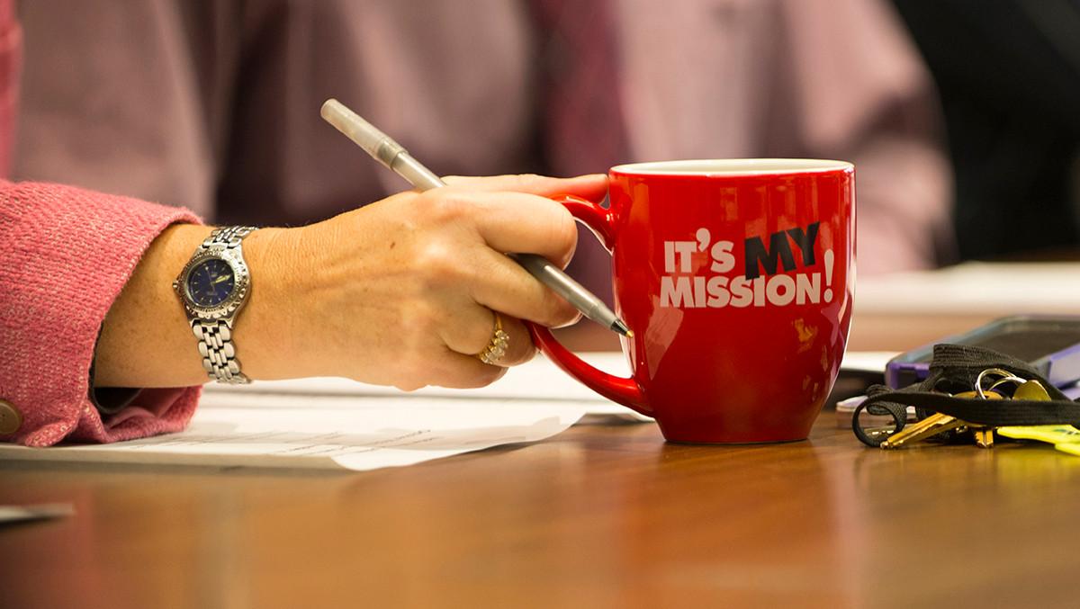 It's my Mission.