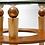Thumbnail: Round Glass Mid Century Modern Orbit Side Table
