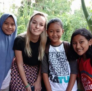 The local school children
