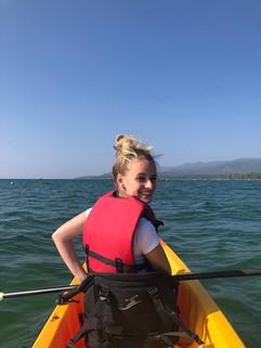 Kayaking in USA