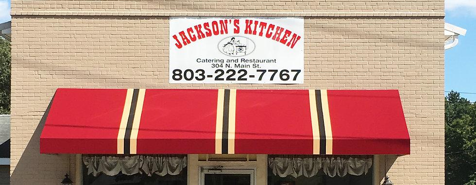 Jackson's Kitchen Storefront