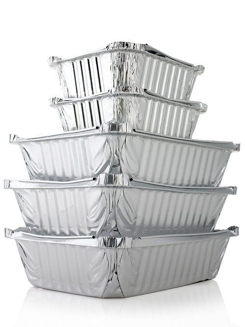 Disposible Aluminum Pans and Lids