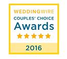 Weddingwire Awards logo 2016