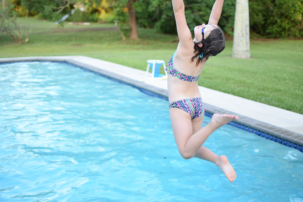 Leaping into the pool