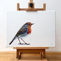 Robin on Easel.jpg