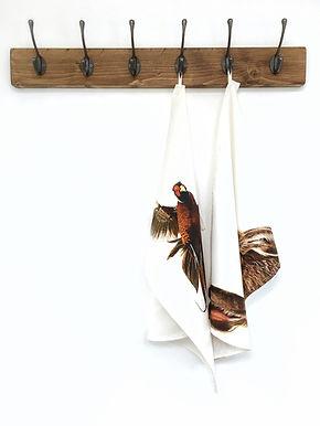 Pheasant Tea Towel | Hare Tea Towel
