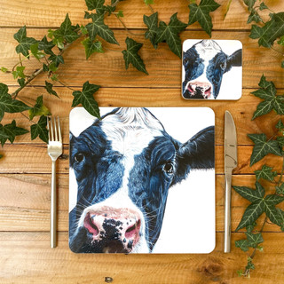 Holstein-Friesian Cow Placemat