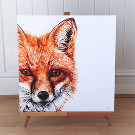 Fox painting | fox art | fox face | fox print | fox art print | fox canvas | fox picture | fox decor | fox design | fox style | foxy | fox eyes | fox gift | fox gifts | fox lovers | foxes | red fox | fox fur | fox lovers | fox wall art | fox decor | countryside decor | country home | country home style | british countryside art | wildlife art prints | wildlife painting | wildlife wall art