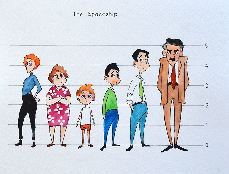 Spaceship character sheet