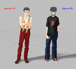 Marcus VR & IRL
