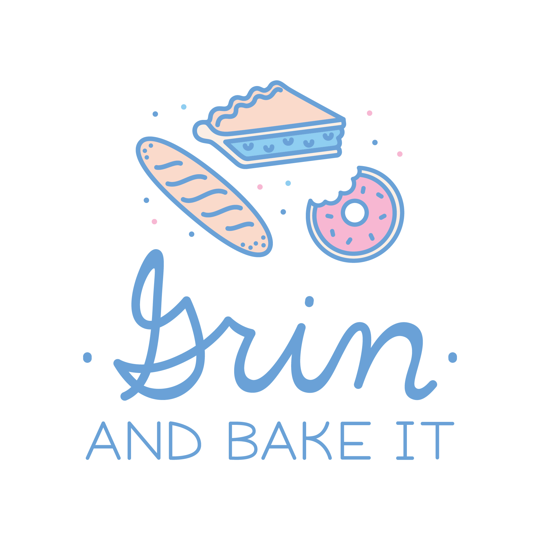 Cute Bakery Logo