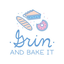 Cute Bakery Logo