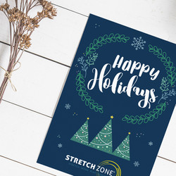 Stretch Zone Holiday Card