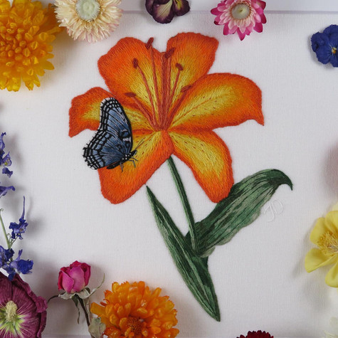 Lily and Butterfly