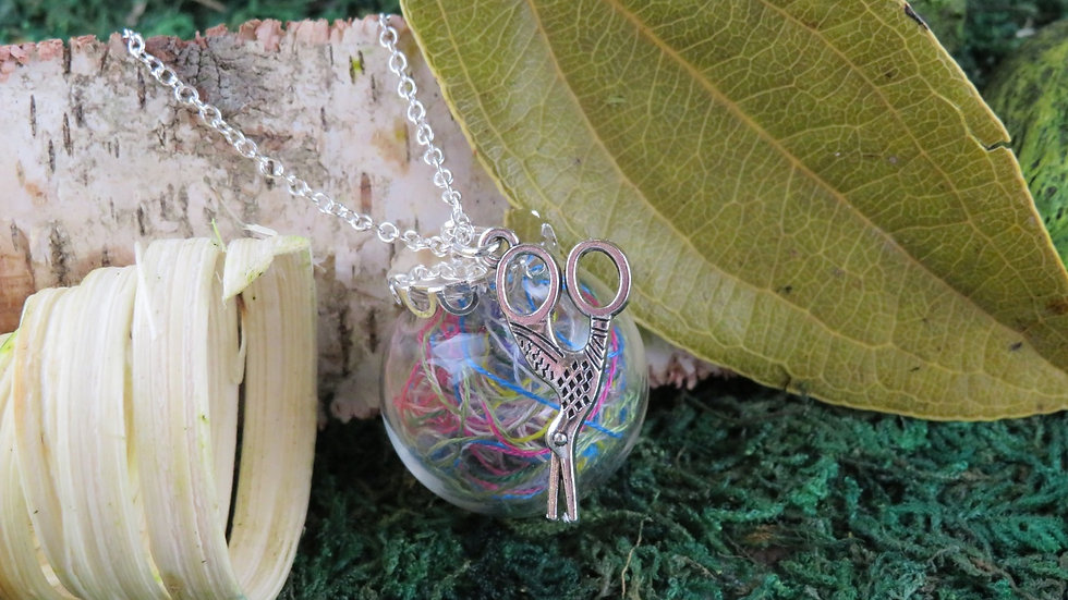 Necklace kit with Embroidery Thread
