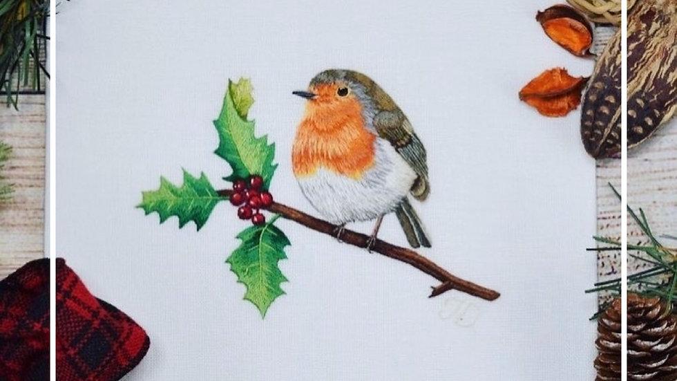 Robin Needle Painting PDF