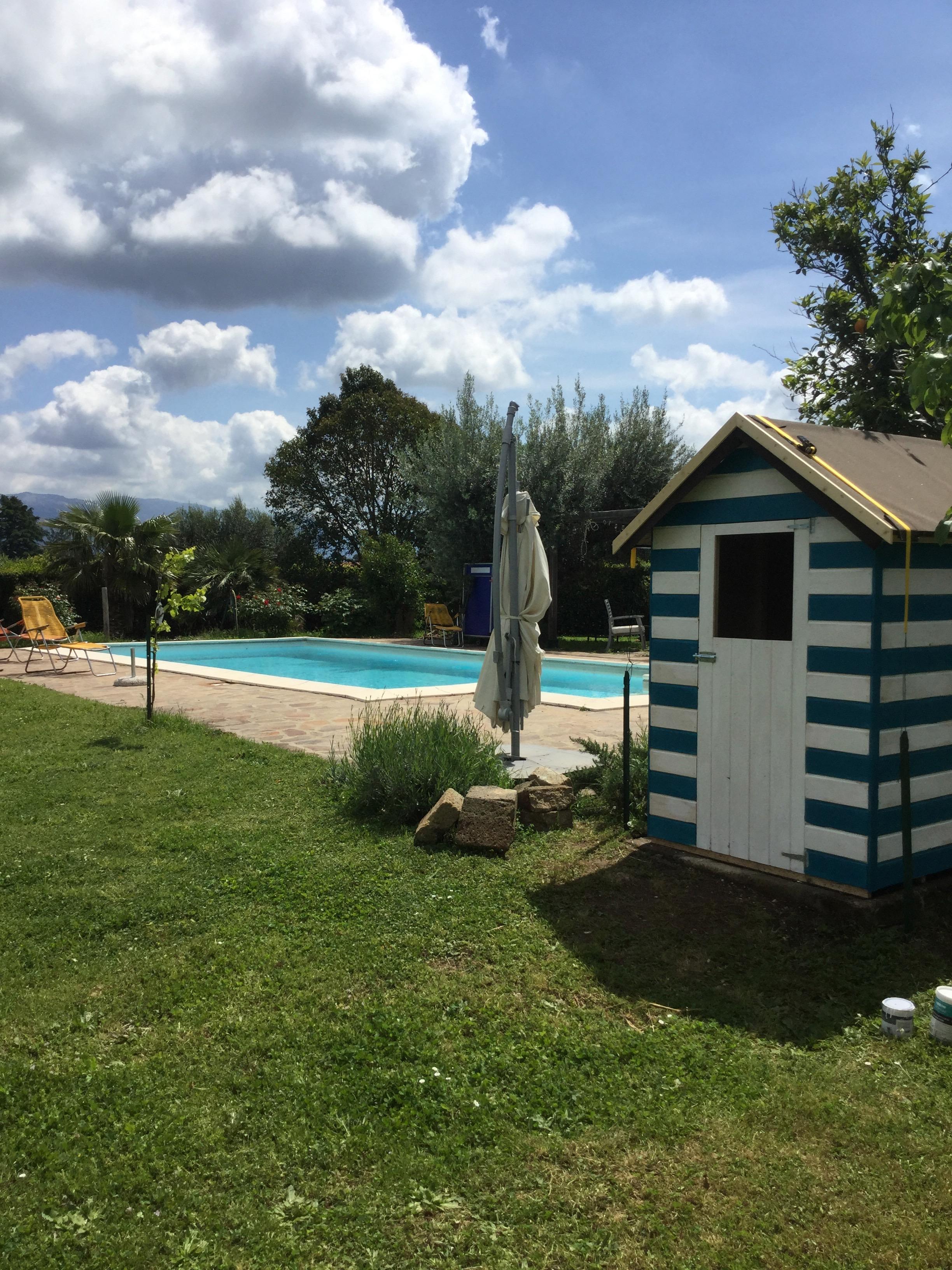 casetta piscina