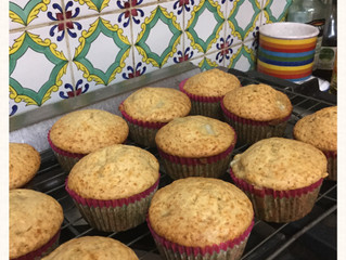 Pear and Ginger Muffins for breakfast