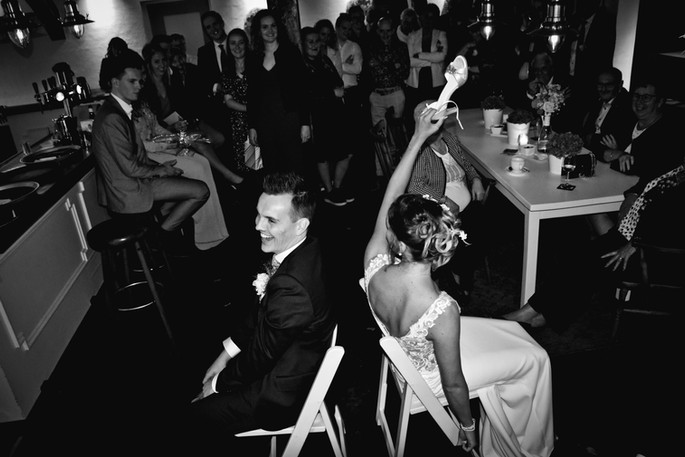 wedding black white