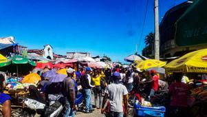 Campagne de Sensibilisation contre la Domesticité au Cayes au marché Relais, au marché Rival-Cance
