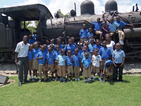 Ecole Communautaire Léa Kokoyé de Nérette AU PARC HITORIQUE DE LA CANNE SUCRE