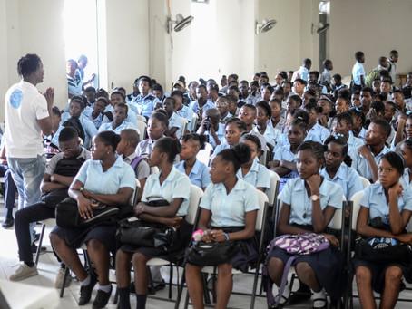Campagne de sensibilisation contre la domesticité au Lycée Philippe Guerrier des Cayes