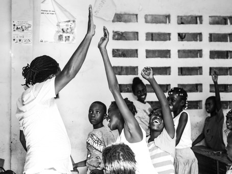 Lancement du projet de Thérapie par les arts dans le sud tout précisément dans la ville des Cayes
