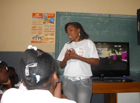 Sensibilisation pour la protection de l'enfant à l'école nationale République du Paraguay
