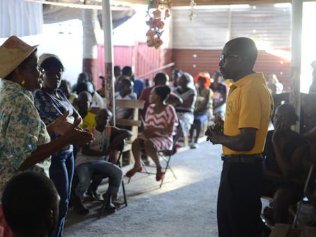 Campagne de sensibilisation contre la Domesticité dans la localité de Carrefour Boyer aux Cayes.