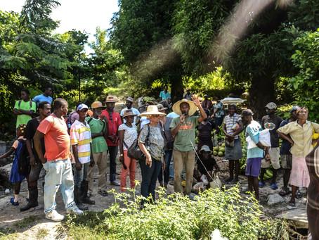 Sensibilisation de masse dans huit communes du département de Sud(Cayes,Torbeck,Port-salut...)