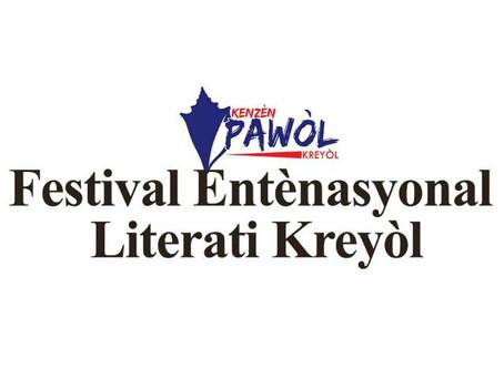 LITTÉRATURE PREMIÈRE ÉDITION DU FESTIVAL INTERNATIONAL DE LITTÉRATURE CRÉOLE  ROBERT BERROUËT-ORIOL