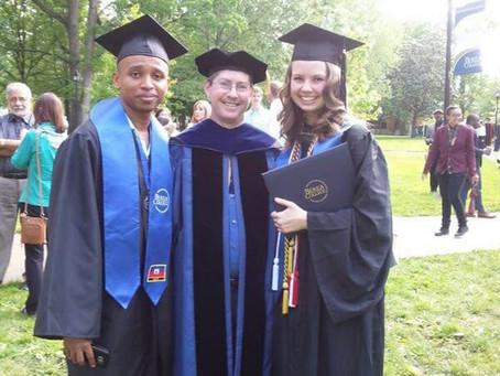 Sébastien Dolcé, bénéficie de quatre années  d'études à BEREA Collège à Kentucky
